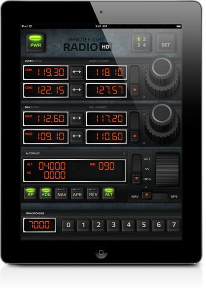 RemoteFlight - RADIO HD for iPad